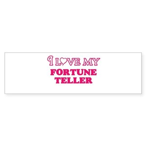 I love my Fortune Teller Bumper Sticker