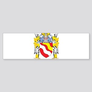 Brewer Coat of Arms - Family Crest Bumper Sticker