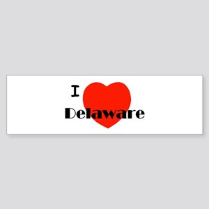 I love Delaware! Bumper Sticker