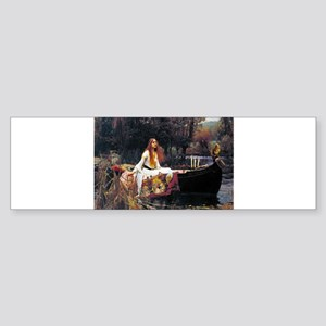 Waterhouse Lady Of Shalott Bumper Sticker