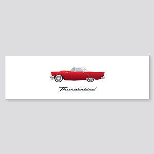 1957 Thunderbird Bumper Sticker