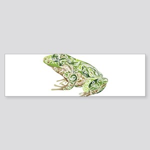 Filligree Frog Bumper Sticker