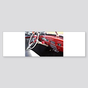 Classic car dashboard Bumper Sticker