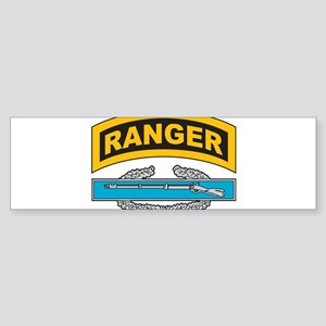CIB with Ranger Tab Bumper Sticker