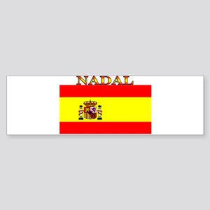 Nadal Spain Spanish Flag Bumper Sticker