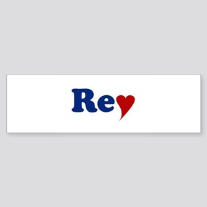 Rey with Heart Sticker (Bumper)