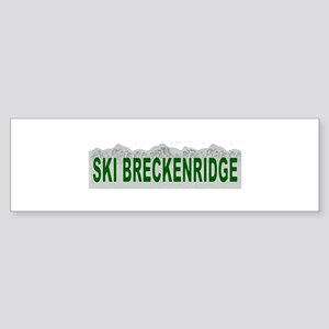Ski Breckenridge Bumper Sticker