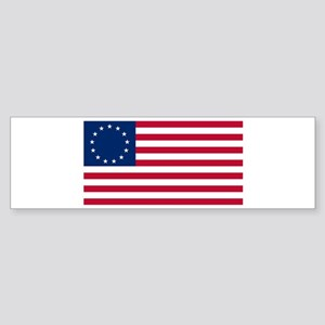 Betsy Ross Flag Bumper Sticker