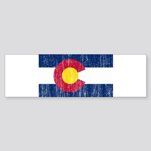 Colorado Flag Sticker (Bumper)