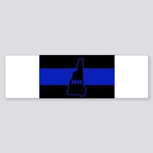 Thin Blue Line - New Hampshire Bumper Sticker