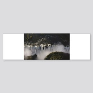 crevice waterfall victoria Bumper Sticker