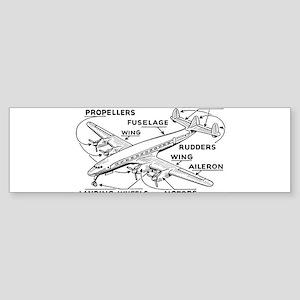 Airplane Bumper Stickers - CafePress