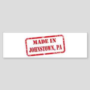 MADE IN JOHNSTOWN, PA Sticker (Bumper)