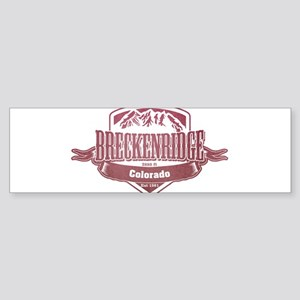 Breckenridge Colorado Ski Resort 2 Bumper Sticker
