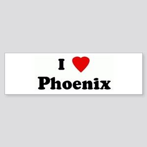 I Love Phoenix Bumper Sticker