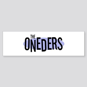 The ONEDERS Bumper Sticker