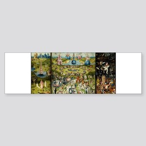 Hieronymus Bosch Garden Of Earthly Bumper Sticker