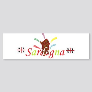 Sardegna bella Bumper Sticker