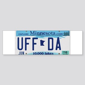 "Minnesota ""Uffda"" Sticker (Bumper)"