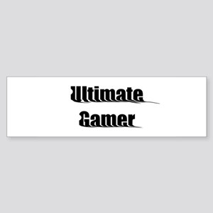 Ultimate Gamer Bumper Sticker