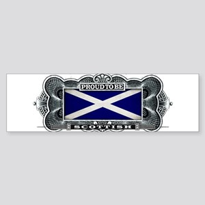 Proud To Be Scottish Bumper Sticker