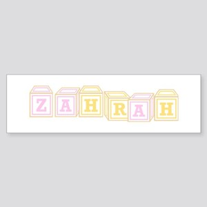 Paki Arabic Girl Name Bumper Stickers - CafePress