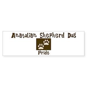 Anatolian Shepherd Dog Pride Bumper Sticker