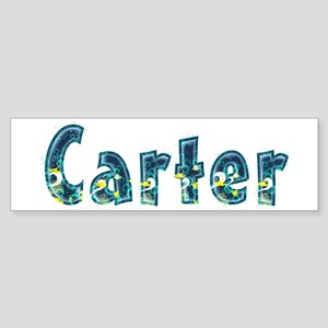 Carter Under Sea Bumper Sticker