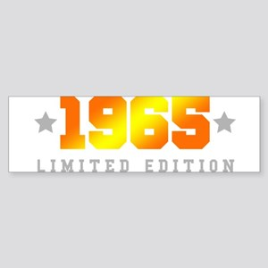Limited Edition 1965 Birthday Bumper Sticker