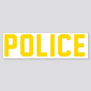 POLICE Sticker (Bumper)