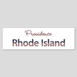Custom Rhode Island Sticker (Bumper)