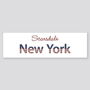 Custom New York Sticker (Bumper)