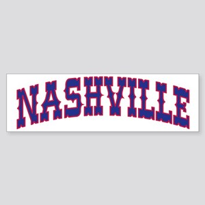 NASHVILLE Bumper Sticker