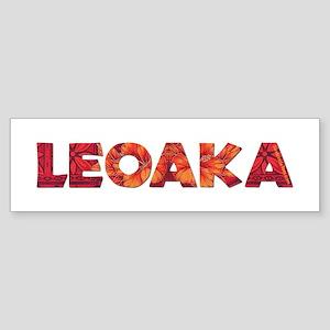 Hawaiian Words Bumper Stickers - CafePress