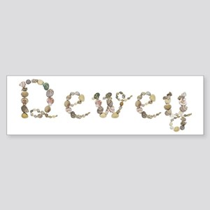 Dewey Seashells Bumper Sticker