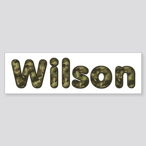 Wilson Army Bumper Sticker