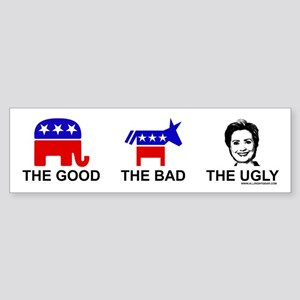 The Good The Bad The Ugly Bumper Sticker