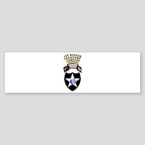 SOF - 1st Ranger Infantry Co - Abn Sticker (Bumper