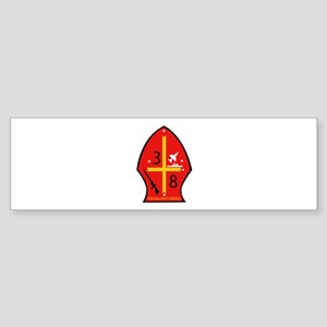 3rd Battalion - 8th Marines Sticker (Bumper)