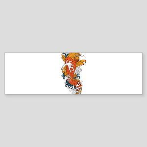 Fancy Koi Bumper Sticker