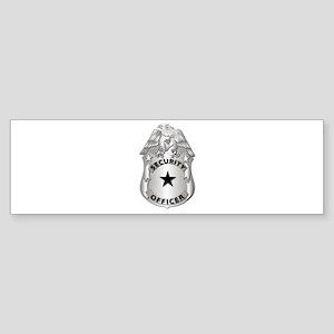 Gov - Security Officer Badge Sticker (Bumper)