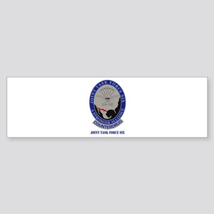 Joint Task Force Six with Text Sticker (Bumper)