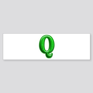 Q Shiny Colors Bumper Sticker