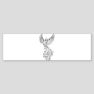 black-phoenix-bird Sticker (Bumper)