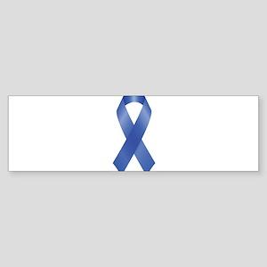 Blue Awareness Ribbon Bumper Sticker