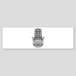 Evil Eye Spiritual Symbol Bumper Sticker