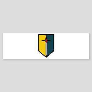 Army - SSI - 1st MEB no Text Sticker (Bumper)