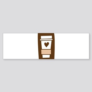Latte Love Sticker (Bumper)