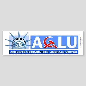 A-C-L-U ver.2 Bumper Sticker
