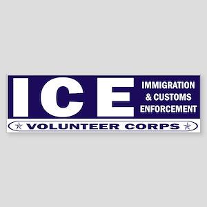 ICE - Immigration & Customs Bumper Sticker